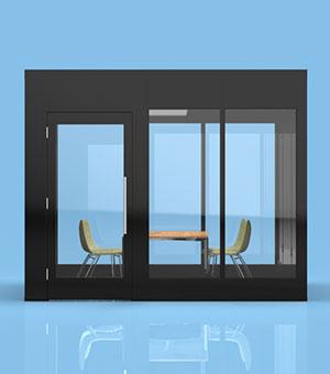 Zonez 10x10 privacy meeting room
