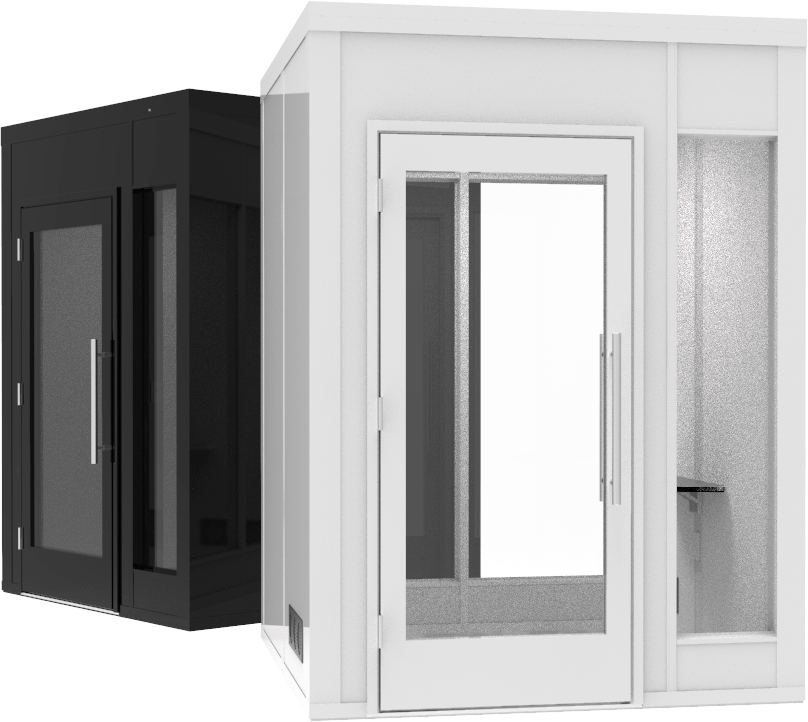 6x6 privacy booths